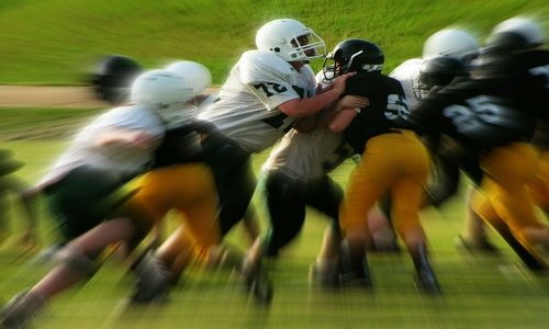 Quick Healing of a Football Injury<br>(3 Minute Read)